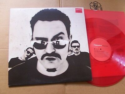 THERAPY?,INFERNAL LOVE lp m(-)/m(-) OIS /m(-) RED VINYL a&m rec540-379-1 England