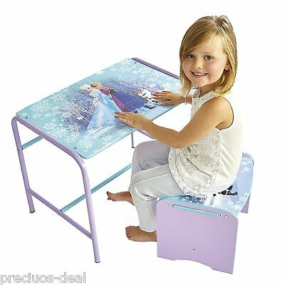 Worlds Apart Cosy Time Practical Frozen Doodle Desk and Stool