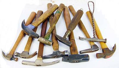 Large Lot of Assorted Small Hammers