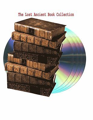 The Lost Sacred Ancient Books Collection On  4 DVDs total 17 GB