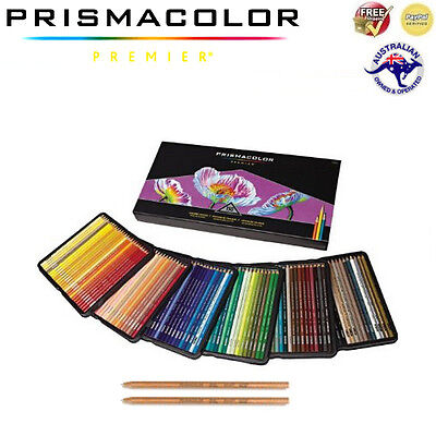 Prismacolor Premier Soft Core Coloured Pencils (150) + 2 Blenders **Brand New**