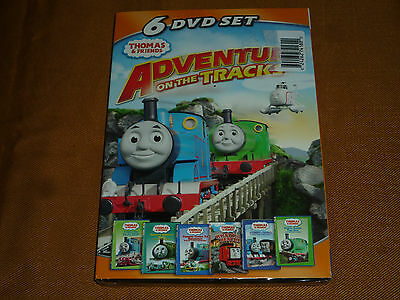 Thomas & Friends: Adventures on the Tracks (DVD, 2011, Canadian) NEW & SEALED!