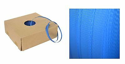 19mm x 750m Blue Band Poly Strap Strapping Polypropylene Packing