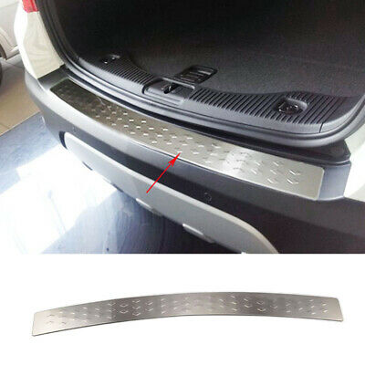 For Opel Vauxhall Mokka Rear Trunk Bumper Protector Panel Cover Sill Plate Trim