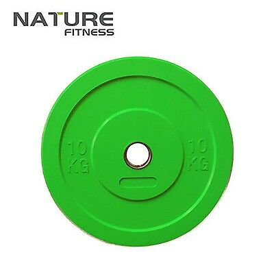 Bumper Plate Sold For Pair Home Gym Exercise Weight Lifting Big City Free Ship