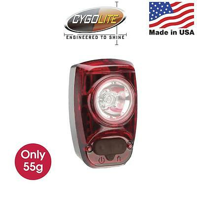 Cygolite HotShot SL 50 lumen USB Rechargeable Rear Bicycle/Bike Tail Light