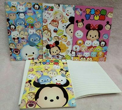 1set 20pcs TSUM tsum A5 Notepad Notebooks Children Stationery Gifts Party