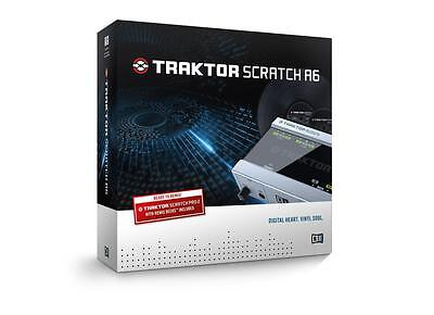Native Instruments Software Traktor Scratch A6 Digital Vinyl System Audio 6