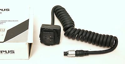 Olympus OM Original TTL Shoe Cord T - 0.6m Coiled, Boxed