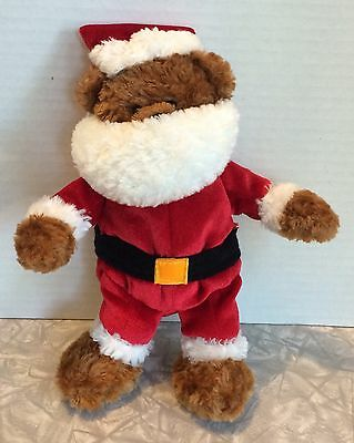 "8"" Plush Princess Soft Toys Santa Claus Teddy Bear"