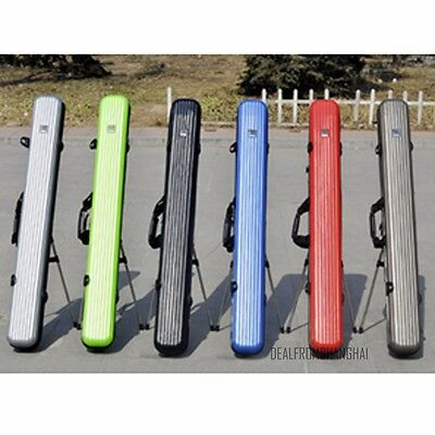 Fishing Rod Tackle Hard ABS Case Bag Carry Holder Luggage Holdall 125cm 5 Colors