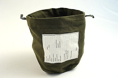 Military Surplus Personal Effects Bag Olive Drab Pouch #1812