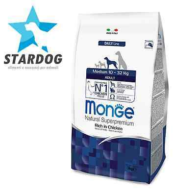 Monge Cane Medium Adult 12Kg.