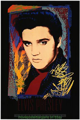 ELVIS PRESLEY GALLERY PRINT POSTER 24x36 JIM EVANS ART MINT 1993 MIRAGE EDITIONS