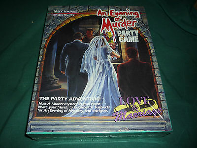 An Evening of Murder Party Game- Love & Marriage- New! (Canada Games, 1992)