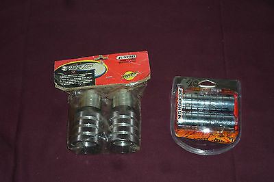 Rare NOS Free Fall BMX Freestyle Jumbo Foot Pegs & NEW Mongoose Pegs