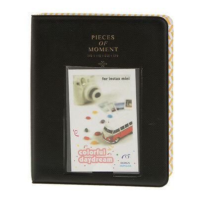 Instant Picture Photo Album Pieces Of Moment 64 Photos For Fuji Instax Black