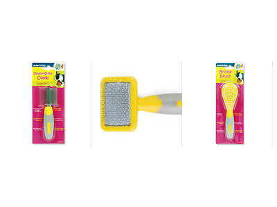 Ancol Just 4 Pets Small Animal Grooming Brush Comb Hamster Guinea Pig