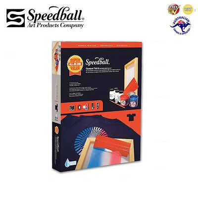 Speedball Opaque Fabric Screen Printing Kit  ***Brand New + Free Shipping!***
