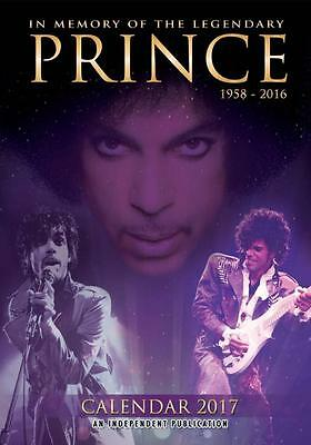 Prince 2017 Large A3 Poster Size Wall Calendar Brand New And Sealed