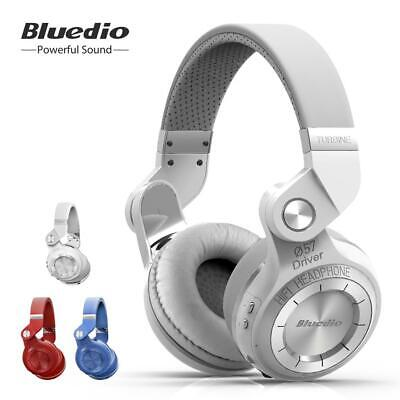 NEW BLUEDIO T2S Wireless Headphones Bluetooth 4.1Stereo Headsets for Smartphones