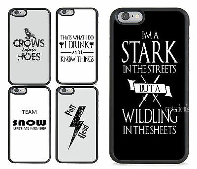 NEW hard plastic case,cover,Game of thrones Jon,winter is coming funny quotes