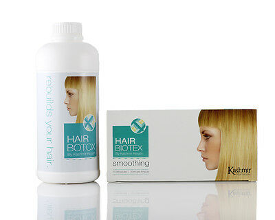 HAIR BIOTOX By Kashmir - 10 Ampules + Smoothing Treatment