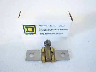 New Square D B25 Overload Relay Thermal Unit