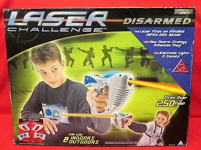 Toymax 2004 Laser Challenge Disarmed - Never opened!