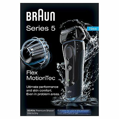 Braun Series 5 5040s Rechargeable Wet and Dry Foil Electric Shaver - RRP £199.99