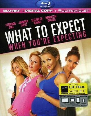 What to Expect When You're Expecting [Includes  (2012, Blu-ray NUEVO) (REGION A)