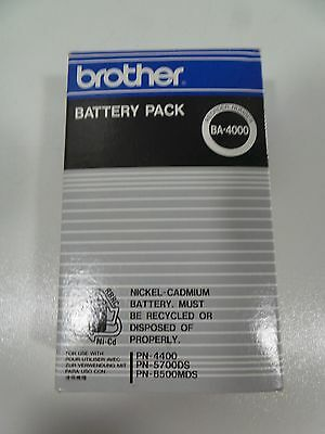 Brother Battery Pack Ba 4000