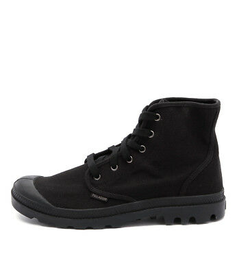 New Palladium Pampa Hi Black Black Mens Shoes Casual Boots Ankle