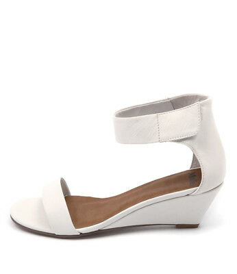 New Mollini Marsy White Women Shoes Casuals Sandals Wedges