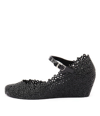 New I Love Billy Jellies Black Womens Shoes Casual Shoes Heeled