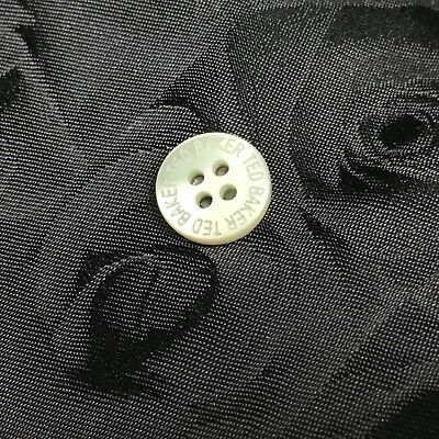 New Mens Ted Baker Mother Of Pearl Shirt Button Silver Plated Tie Lapel Pin Clip