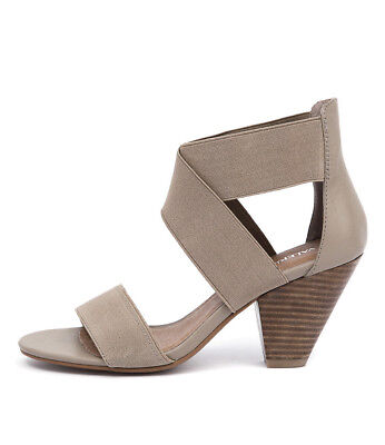 New Valeria Grossi Macklin W Taupe Womens Shoes Casual Sandals Heeled
