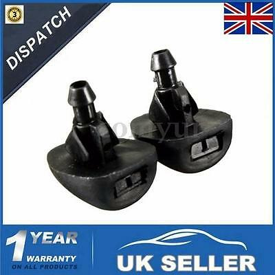 For Peugeot 207 306 307 Mist Washer Jets Spray Front Windscreen Water Nozzles Uk