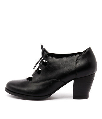 New I Love Billy Delilah Black Womens Shoes Casual Shoes Heeled