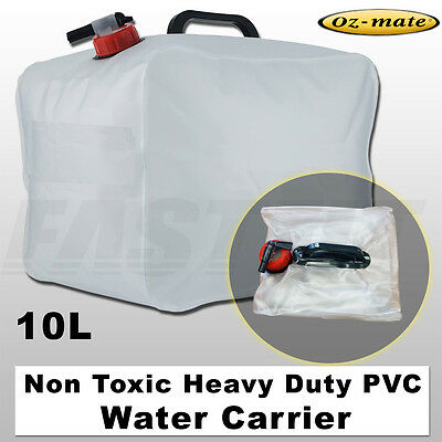 Oz-mate Heavy Duty Non Toxic PVC Pack Away Water Carrier - 10L
