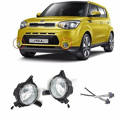 Genuine Parts Fog Lamp Assy LH RH 4EA 1Set For KIA Soul 2014 2016