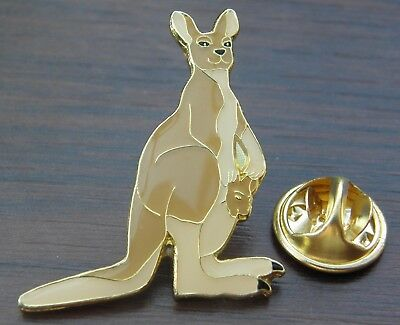 Kangaroo Lapel Hat Cap Tie Pin Badge Australia Australian Animal Lovers Brooch