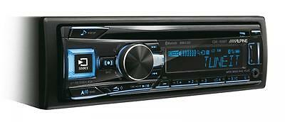 Alpine CDE-193BT Car CD Stereo USB Aux in Bluetooth iPod iPhone FLAC Android