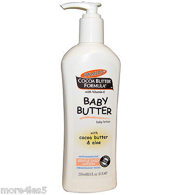 Palmers Cocoa Butter Formula Baby Butter 250ml Gently Moisturiser Skin New