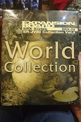 Roland SRX09 SRX-09 World Collection Expansion Board  NEW UNOPENED BOX !!!