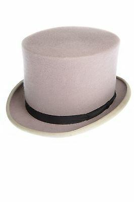 Grey Wool Ex Hire Top Hat