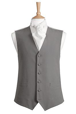Dove Grey Single Breasted Waistcoat
