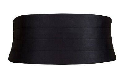 Black Silk Cummerbund