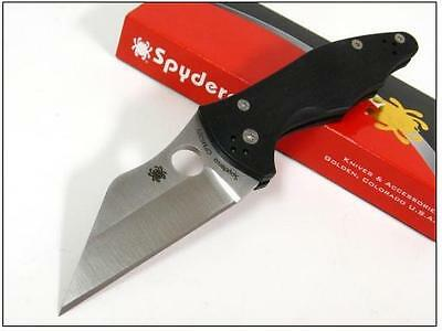 Couteau Spyderco Yojimbo 2 Acier CPM-S30V G-10 Handle Made In USA SC85GP2