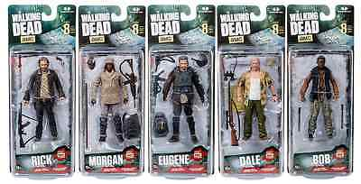 The Walking Dead Tv Series 8 Eight Action Figure Complete Set Of 5